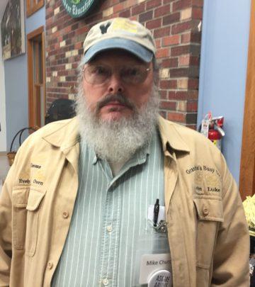 Mike Church of the NVBA